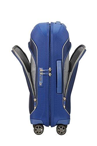 SAMSONITE Fuze – Spinner 55/20 2.4 KG Equipaje de mano, 55 cm, 35 liters, Azul (Cobalt Blue)
