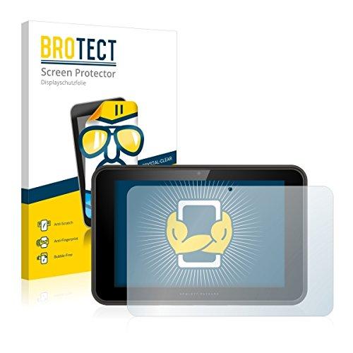 2X BROTECT HD Clear Bildschirmschutz Schutzfolie für HP Pro Slate 10 EE (kristallklar, extrem Kratzfest, schmutzabweisend)