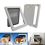 Cat Flap, Pet Door, Automatic Dog And Cat Door For Medium And Large Dogs And Cats