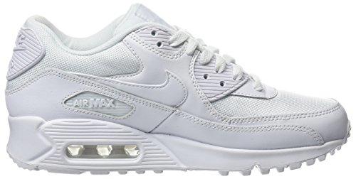 Nike Air Max 90 Essential, Herren Sneakers, Weiß (White/white-white-white), 43 EU (8.5 Herren UK) - 7