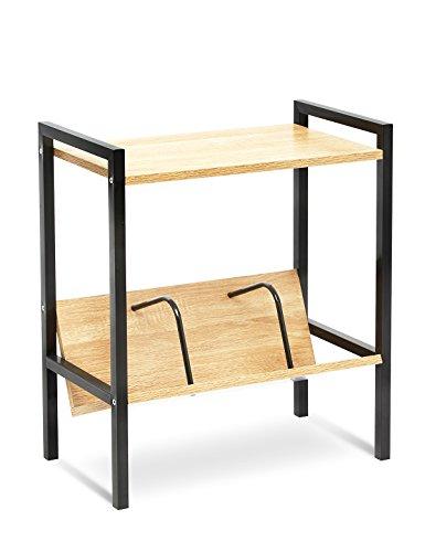SUHU Abstellraum Regal Kleiner Couchtisch Holz CD Zeitungsständer Tisch Klein Nachttisch...