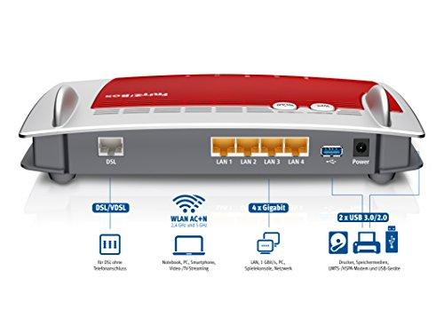 AVM-FRITZBox-3490-VDSL-ADSL2-Dual-WLAN-AC-N-mit-1300-MBits-5-GHz-450-MBits-24-GHz-4x-Gigabit-LAN-Mediaserver