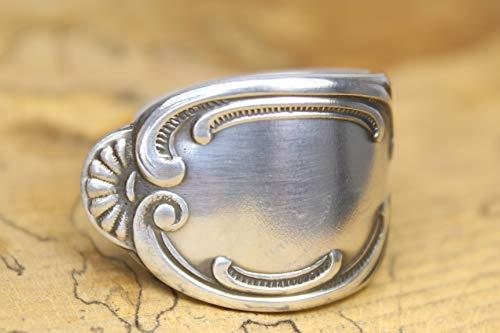 Opulenter Rokoko Besteckschmuck Ring ca. 63 (20) Ring aus Besteck