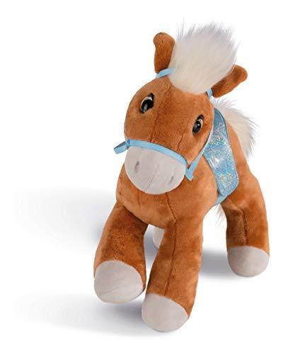 NICI Kuscheltier Pferd Leotie mit Zaumzeug und Sattel, 35 cm