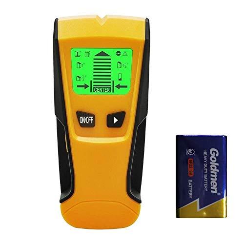 Flybiz Detector de Pared Encontrar Stud Finder con 3-en-1 Metal AC Alambres Escáner de Madera con Pantalla...
