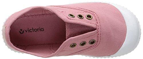 VictoriaInglesa Lona Tenida Punt - Basse Unisex - Bambini Rosa (Pink (170 Nude))