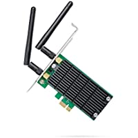 TP-Link Archer T4E AC1200 Dual Band Wireless PCI Express Adapter with Two Antennas, PCIe Network Interface Card for Desktop, Low-Profile Bracket Included, Supports Windows 10/8.1/8/7/XP (32/64 bit)