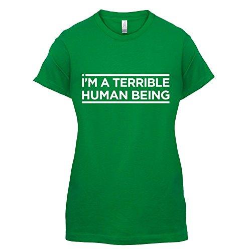 I'm A Terrible Human - Damen T-Shirt - 14 Farben Grün
