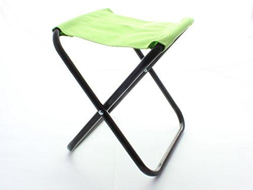 Care-Wert ® Klapphocker MINI Klappstuhl, Grösse der Sitzfläche 21x20cm, Höhe 26cm (Grün)