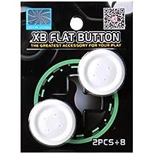 Gam3Gear Project Design Cap botón de dirección plana XB para Xbox One Blanca controlador