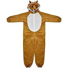SODIAL(R) Disfraces de animales zoologico de corral de bosques para ninos de disfraces Ninos Ninas - Marron L (leon)