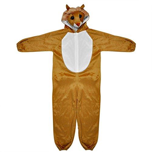 Imagen de sodial r disfraces de animales zoologico de corral de bosques para ninos de disfraces ninos ninas  marron l leon