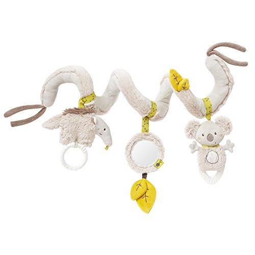 Fehn 064100 Activity-Spirale Australia - Stoff-Spirale zum Greifen und Fühlen - Für Babys und Kleinkinder ab 0+ Monaten - Maße: 30 cm