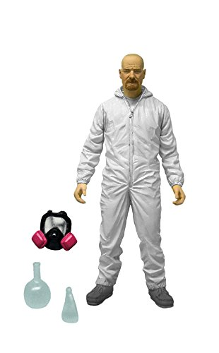 Mezco Toyz Breaking Bad 6 Walter Hazmat Figure (White Suit) by Mezco