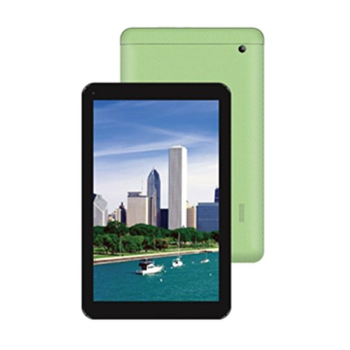 "Majestic TAB 302 3G GR44 Tablet con Display da 10.1"", Processore A7 Dual-Core MTK 8312 da 1.2 GHz, Memoria Interna da 8 GB, Verde"