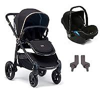 Mamas Papas Ocarro Jewel Travel Sistem Bebek Arabası, Black Diamond