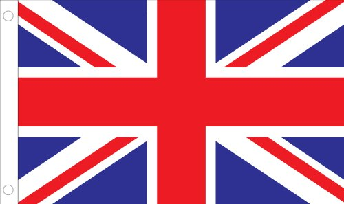 Alliierte Flagge Outdoor Nylon United Kingdom of Great Britain and N Ireland United Nation Flag 3 by 5-Feet Rot/Weiß/Blau (Nations-flag United)