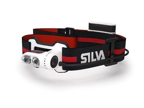 Silva Trail Runner 2 Stirnlampe für Läufer, mit intelligenter Lichtverteilung, Weiß (Torch Light 2)