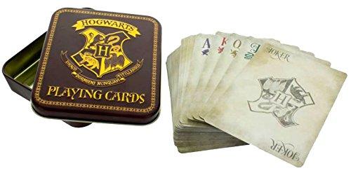 HARRY POTTER Hogwarts Juego de Cartas baraja de Cartas 3