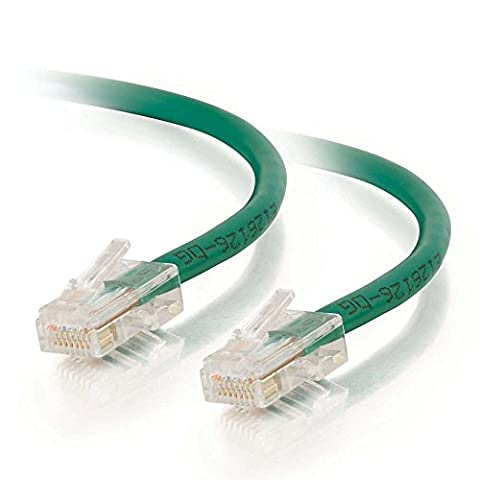 C2G 1.5m Cat5E 350MHz Assembled Patch Cable (Green)