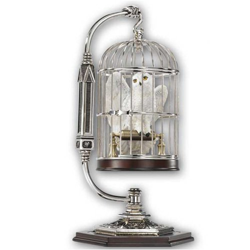 Harry Potters Eule Hedwig im Käfig - Miniatur Aufsteller