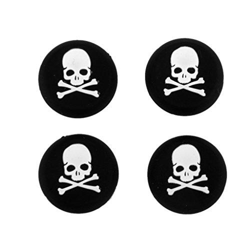 4pcs-tapas-cubiertas-joystick-para-controlador-sony-playstation-4-ps4-patron-craneo-blanco
