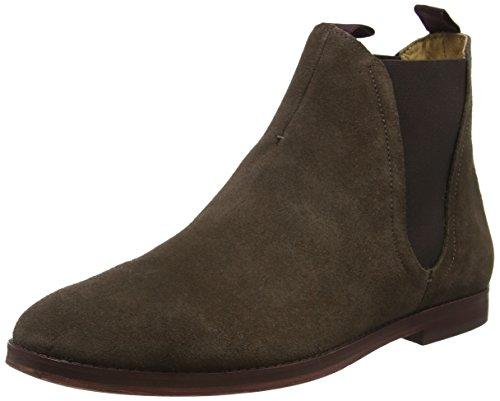 Hudson - Tamper Suede, Stivali Chelsea Uomo, colore marrone (brown), taglia 45 (11 UK)