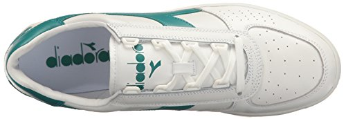 Diadora B Elite, Sneaker a Collo Basso Unisex – Adulto White Harbor Blue