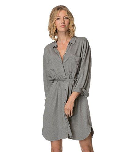 American Vintage Robe Jinwood Gris (S)