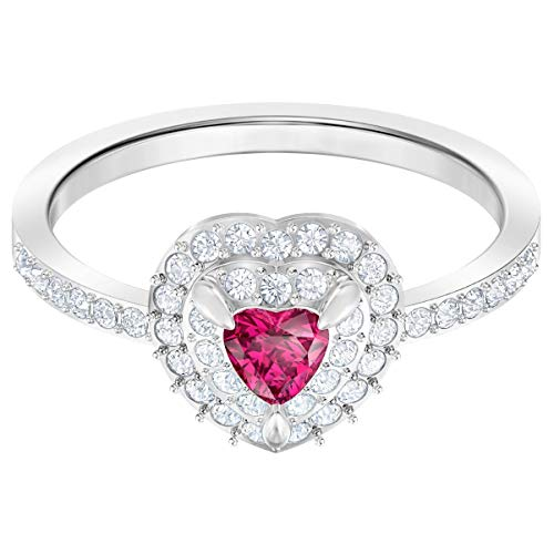 Swarovski Damen-Ringe Edelstahl Kristall \'- Ringgröße 55 5446300