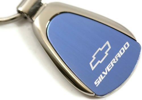 chevy-chevrolet-silverado-blue-teardrop-key-fob-authentic-logo-key-chain-key-ring-keychain-lanyard-b
