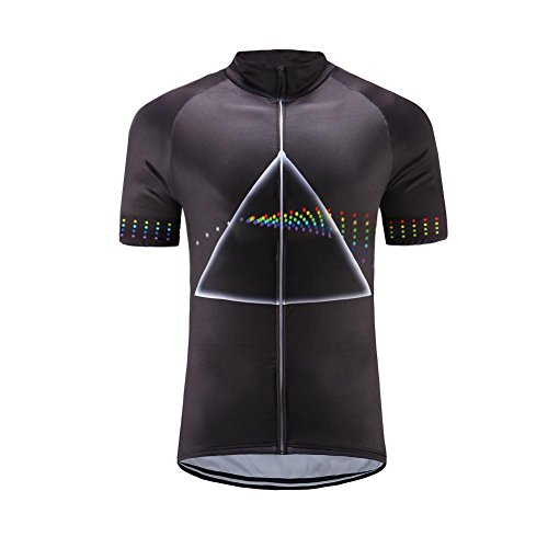BurningBikewear Uglyfrog Mens Short Sleeve Cycling Jersey Breathable Shirts  Full Length Zipper Cycle Tops Casual Sportswear 756adfe49