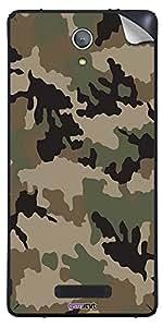 GsmKart GMM4 Mobile Skin for Gionee Marathon M4 (Green, Marathon M4-399)