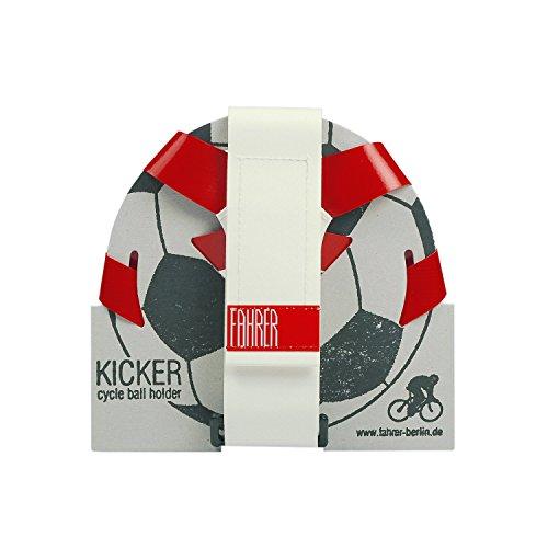 FAHRER Ballhalter   KICKER - rot/weiß