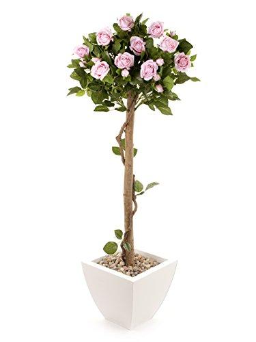 Closer to Nature Art Floral Pink 4 ft Rosenbaum - impianto di seta artificiale e Gamma albero