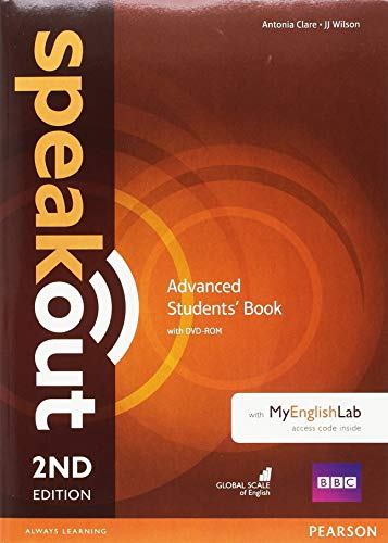 Speakout 2nd Edition Extra Advanced Students Book/DVD-ROM/MyLab/Study Booster Spain Pack REVISED por Antonia Clare
