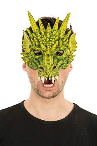 Enter-Deal-Berlin Gesichtsmaske Drachen ()