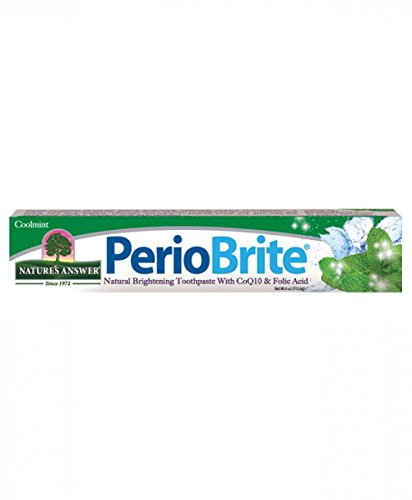 Nature's Answer Periobrite Toothpaste, Cool Mint, 113G (Zahnpasta)