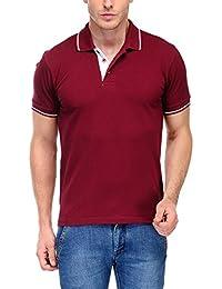Scott Men's Premium Cotton Polo T-shirt - Maroon