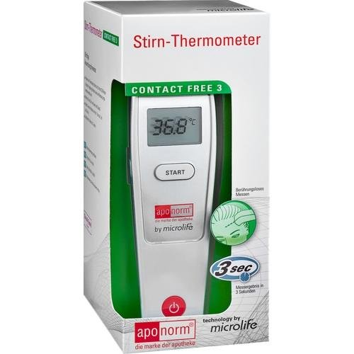 APONORM Fieberthermometer Stirn Contact-Free 3 1 St