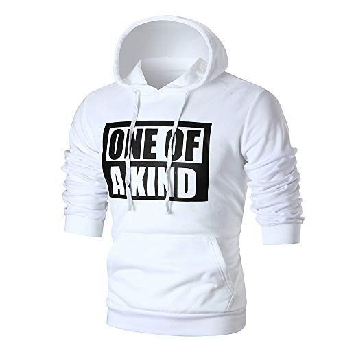 B-COMMERCE Herren Pullover Hoodie Sweatjacke Longsleeve Sweatshirt Jacke Langarm Kapuzenpullover Hoody Sweater - Performance Hoody