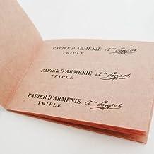 PAPIER ARMENIE TRIPLE carnet de 12