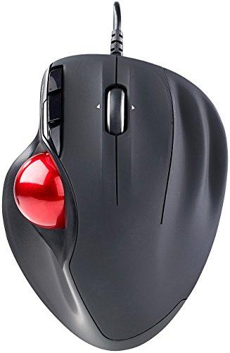 Mod-It Trackball Maus: USB-Laser-Trackball, 5 Tasten und 4-Wege-Scrollrad, 1.200 DPI (Gaming Maus)