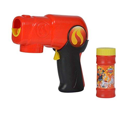 Simba 109253247 - Feuerwehrmann Sam Seifenblasenpistole mit Automatikfunktion
