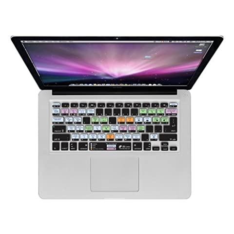 KB Covers MacOS X QWERTY Housse pour Clavier MacBook Air 13