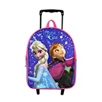 Bagtrotter FRONI04MAGI Queen of Snow/Frozen Backpack Trolley, Size-25 x 11 x 31 cm, Colour-Purple