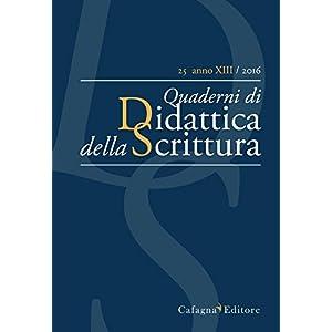 QdS. Quaderni di didattica della scrittura (2016):