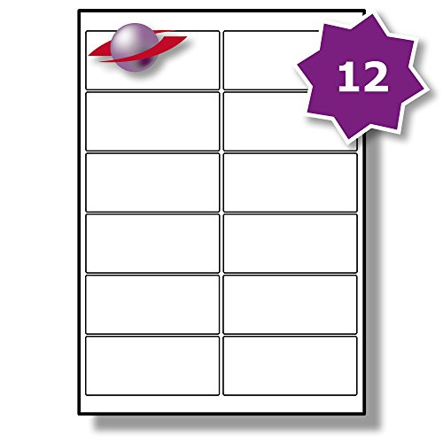 12 per page sheet 5 sheets 60 sticky address labels labelplanet