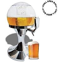 en forma de globo de dispensación de cerveza