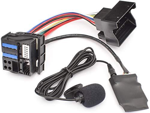 Bluetooth Freisprecheinrichtung Musik Adapter geeignet für BMW E39 E53 X5 Z4 E83 X3 Flachpin 40pin Quadlock New Generation Radio